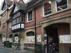 The Story Museum in Pembroke Street, Oxford