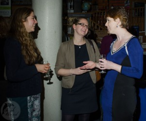 Talking to my wonderful editor Ruth Knowles, and lovely publicist Jasmine Joynson