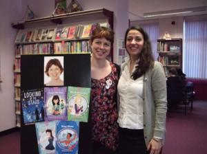 Me and Librarian Extraordinaire Gordana