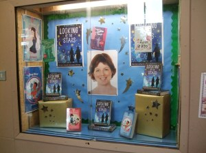 The display outside the library!
