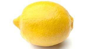 A lemon. Not a book.