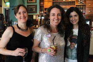 Lee Weatherly, Sophia Bennett and Hilary Freeman