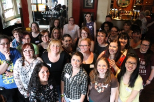 The brilliant bloggers who are responsible for so much buzz about YA books!