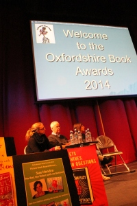 OBAs take place in the Amey Theatre at Abingdon School - along with an audience of 400 children