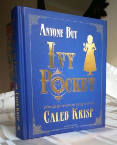 Hardback proof copy of Anyone But Ivy Pocket