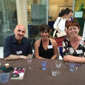 It was fab to meet GR Gemin and Clare Furniss!