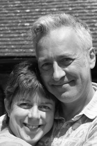 Me and one of my bestest author buddies, John Dougherty