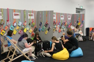 There was a very nice seating area where you could just relax and read a book