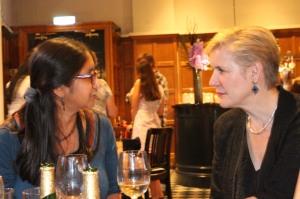 Down the pub with Chitra Soundar and Carnegie Medal winner Tanya Landman