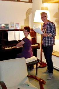 John Dougherty sang my Editing Song to an appreciative group of listeners