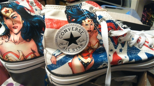 Wonder Woman onverses!
