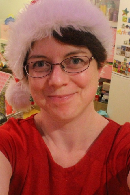 Christmas Day hat and hysteria
