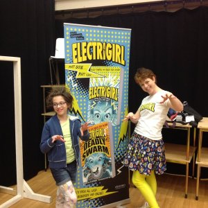 Electrigirl from Rye St A school 2016