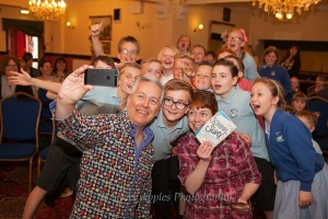 Selfie with the kids - thanks to Jenny Aston for this great photo of us taking a photo!