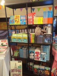 Bookstall at the venue