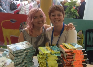 Signing table buddies!